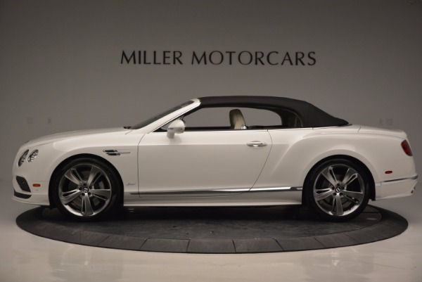 New 2017 Bentley Continental GT Speed Convertible for sale Sold at Aston Martin of Greenwich in Greenwich CT 06830 15