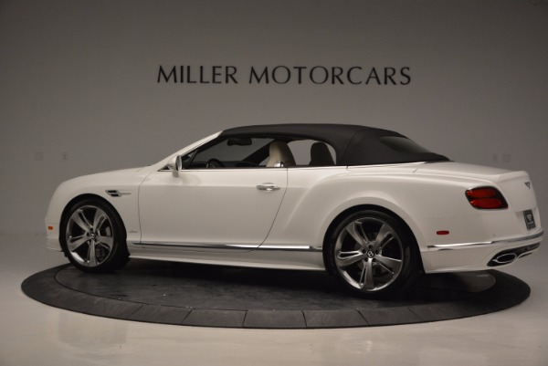 New 2017 Bentley Continental GT Speed Convertible for sale Sold at Aston Martin of Greenwich in Greenwich CT 06830 16