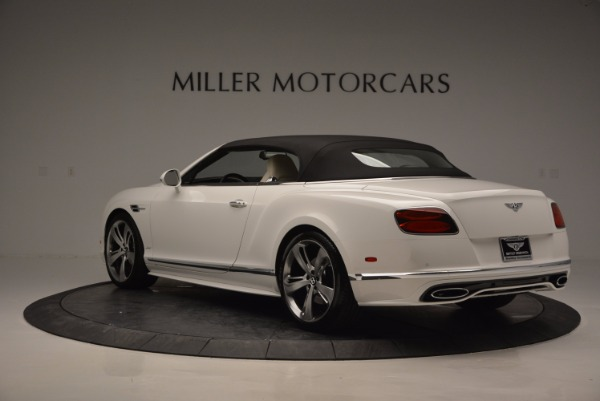 New 2017 Bentley Continental GT Speed Convertible for sale Sold at Aston Martin of Greenwich in Greenwich CT 06830 17
