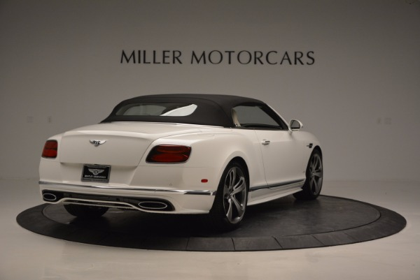 New 2017 Bentley Continental GT Speed Convertible for sale Sold at Aston Martin of Greenwich in Greenwich CT 06830 19