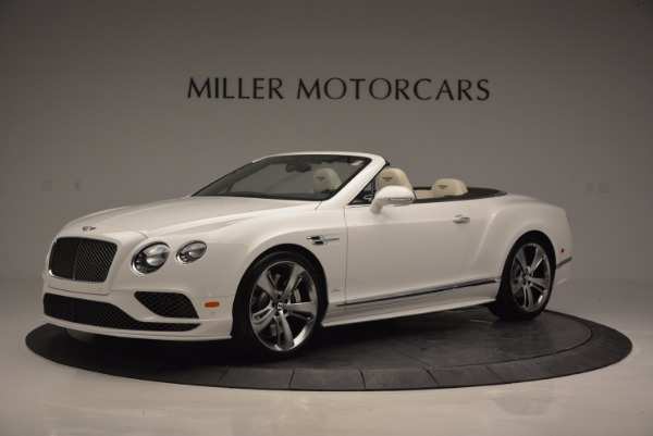 New 2017 Bentley Continental GT Speed Convertible for sale Sold at Aston Martin of Greenwich in Greenwich CT 06830 2