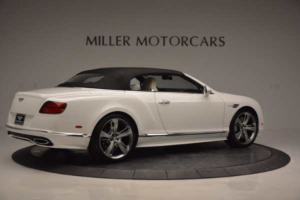 New 2017 Bentley Continental GT Speed Convertible for sale Sold at Aston Martin of Greenwich in Greenwich CT 06830 20