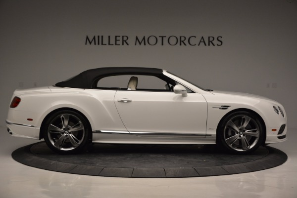 New 2017 Bentley Continental GT Speed Convertible for sale Sold at Aston Martin of Greenwich in Greenwich CT 06830 21