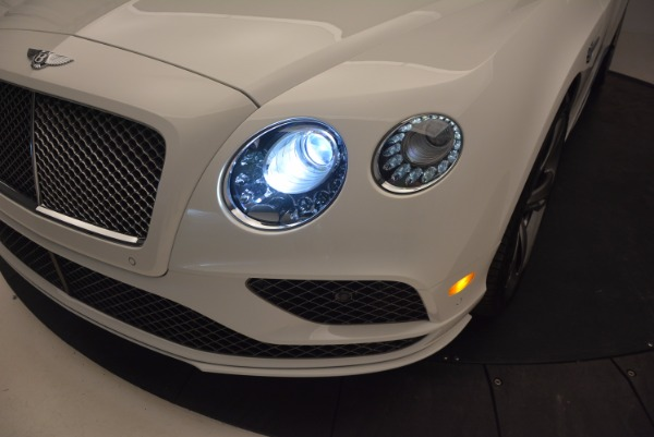 New 2017 Bentley Continental GT Speed Convertible for sale Sold at Aston Martin of Greenwich in Greenwich CT 06830 28
