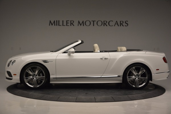 New 2017 Bentley Continental GT Speed Convertible for sale Sold at Aston Martin of Greenwich in Greenwich CT 06830 3