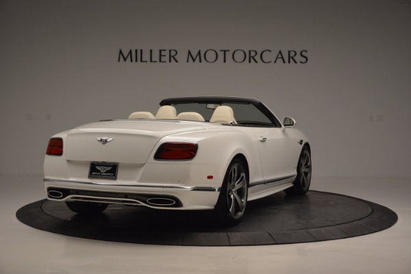 New 2017 Bentley Continental GT Speed Convertible for sale Sold at Aston Martin of Greenwich in Greenwich CT 06830 7