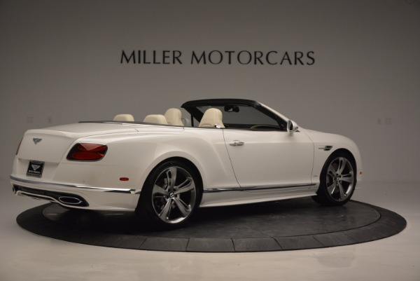 New 2017 Bentley Continental GT Speed Convertible for sale Sold at Aston Martin of Greenwich in Greenwich CT 06830 8