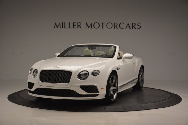 New 2017 Bentley Continental GT Speed Convertible for sale Sold at Aston Martin of Greenwich in Greenwich CT 06830 1
