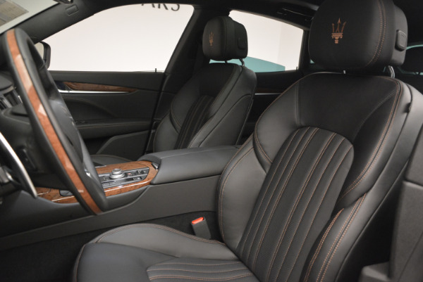 Used 2017 Maserati Levante S Ex Service Loaner for sale Sold at Aston Martin of Greenwich in Greenwich CT 06830 16