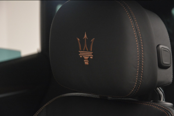 Used 2017 Maserati Levante S Ex Service Loaner for sale Sold at Aston Martin of Greenwich in Greenwich CT 06830 17