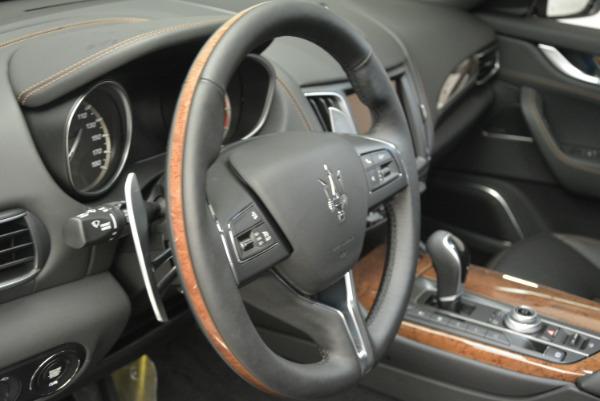 Used 2017 Maserati Levante S Ex Service Loaner for sale Sold at Aston Martin of Greenwich in Greenwich CT 06830 19