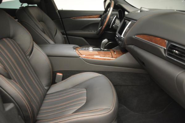 Used 2017 Maserati Levante S Ex Service Loaner for sale Sold at Aston Martin of Greenwich in Greenwich CT 06830 24