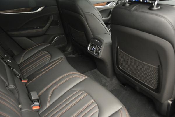 Used 2017 Maserati Levante S Ex Service Loaner for sale Sold at Aston Martin of Greenwich in Greenwich CT 06830 28