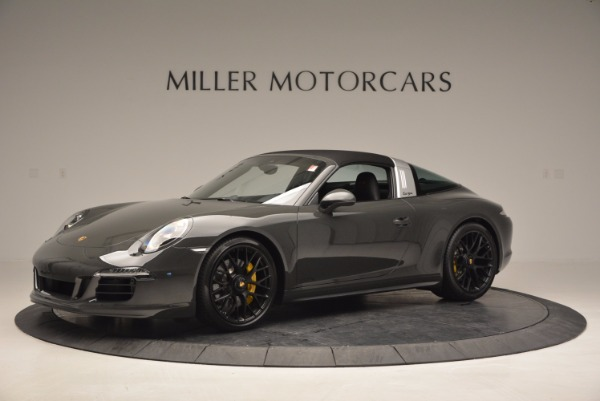Used 2016 Porsche 911 Targa 4 GTS for sale Sold at Aston Martin of Greenwich in Greenwich CT 06830 13