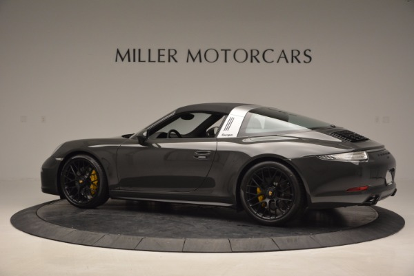Used 2016 Porsche 911 Targa 4 GTS for sale Sold at Aston Martin of Greenwich in Greenwich CT 06830 15