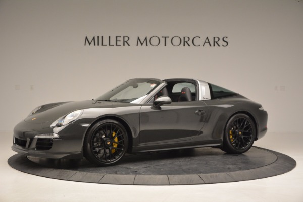 Used 2016 Porsche 911 Targa 4 GTS for sale Sold at Aston Martin of Greenwich in Greenwich CT 06830 2