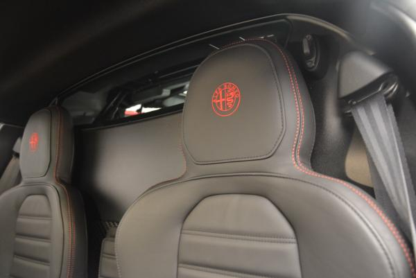 Used 2015 Alfa Romeo 4C for sale Sold at Aston Martin of Greenwich in Greenwich CT 06830 18