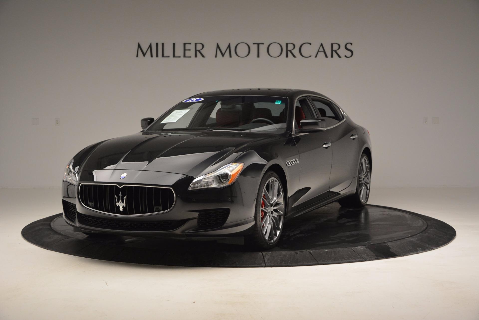 Used 2015 Maserati Quattroporte S Q4 for sale Sold at Aston Martin of Greenwich in Greenwich CT 06830 1