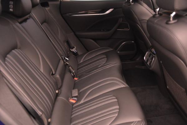 New 2017 Maserati Levante S Q4 for sale Sold at Aston Martin of Greenwich in Greenwich CT 06830 24