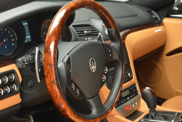 Used 2011 Maserati GranTurismo for sale Sold at Aston Martin of Greenwich in Greenwich CT 06830 16