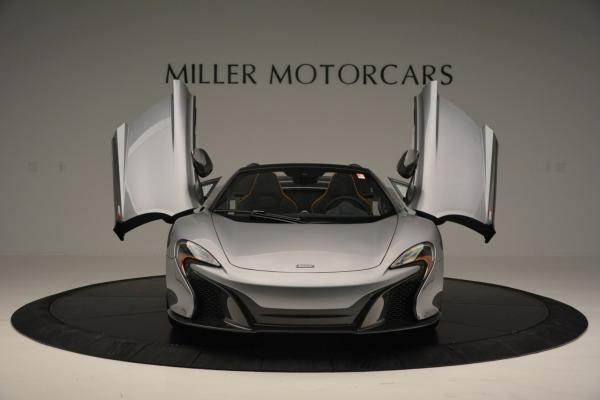 Used 2016 McLaren 650S SPIDER Convertible for sale Sold at Aston Martin of Greenwich in Greenwich CT 06830 13