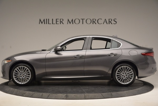 New 2017 Alfa Romeo Giulia Ti Q4 for sale Sold at Aston Martin of Greenwich in Greenwich CT 06830 3