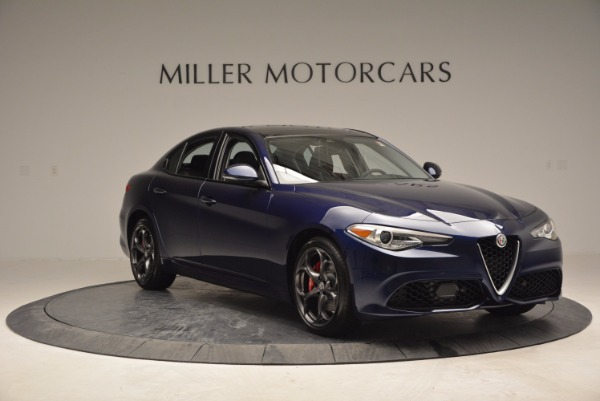 New 2017 Alfa Romeo Giulia Ti for sale Sold at Aston Martin of Greenwich in Greenwich CT 06830 11