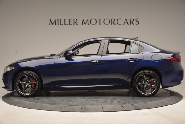 New 2017 Alfa Romeo Giulia Ti for sale Sold at Aston Martin of Greenwich in Greenwich CT 06830 3