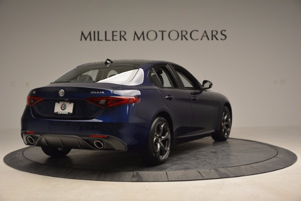 New 2017 Alfa Romeo Giulia Ti for sale Sold at Aston Martin of Greenwich in Greenwich CT 06830 7