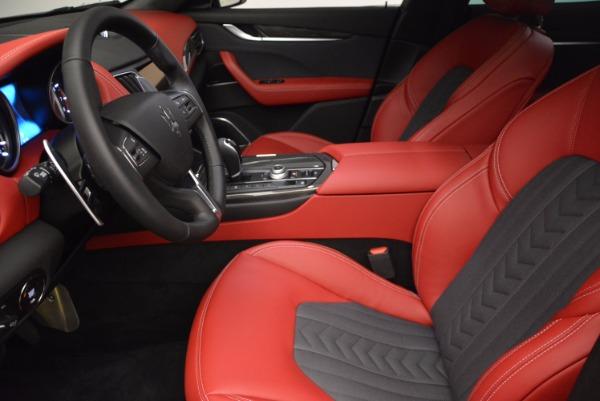 New 2017 Maserati Levante S Zegna Edition for sale Sold at Aston Martin of Greenwich in Greenwich CT 06830 14