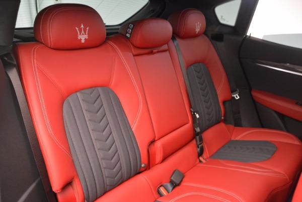 New 2017 Maserati Levante S Zegna Edition for sale Sold at Aston Martin of Greenwich in Greenwich CT 06830 26