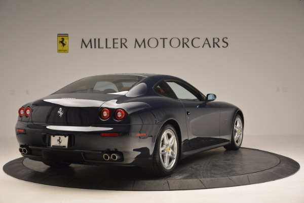 Used 2005 Ferrari 612 Scaglietti 6-Speed Manual for sale Sold at Aston Martin of Greenwich in Greenwich CT 06830 8