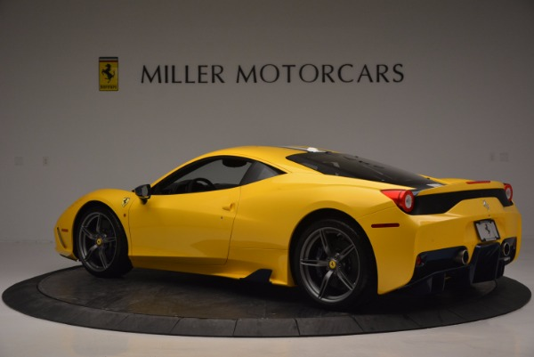 Used 2015 Ferrari 458 Speciale for sale Sold at Aston Martin of Greenwich in Greenwich CT 06830 4