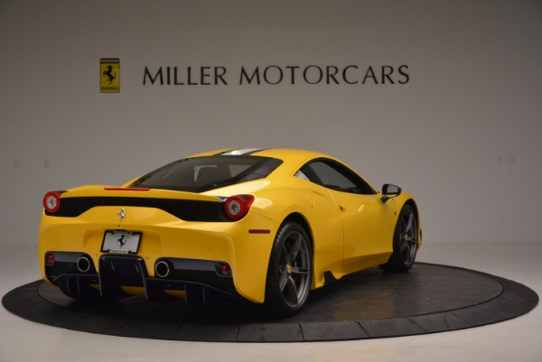 Used 2015 Ferrari 458 Speciale for sale Sold at Aston Martin of Greenwich in Greenwich CT 06830 7