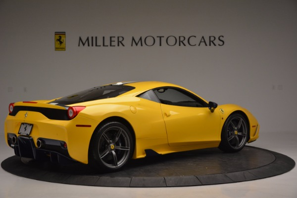 Used 2015 Ferrari 458 Speciale for sale Sold at Aston Martin of Greenwich in Greenwich CT 06830 8