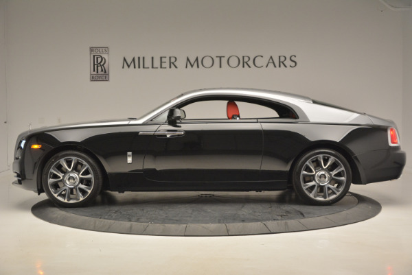 Used 2017 Rolls-Royce Wraith for sale Call for price at Aston Martin of Greenwich in Greenwich CT 06830 3