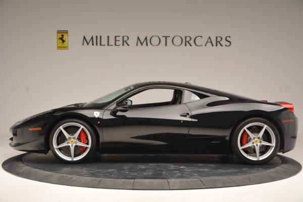 Used 2013 Ferrari 458 Italia for sale Sold at Aston Martin of Greenwich in Greenwich CT 06830 3