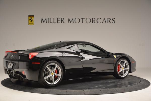 Used 2013 Ferrari 458 Italia for sale Sold at Aston Martin of Greenwich in Greenwich CT 06830 8