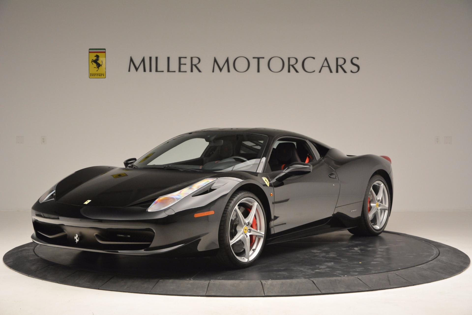 Used 2013 Ferrari 458 Italia for sale Sold at Aston Martin of Greenwich in Greenwich CT 06830 1