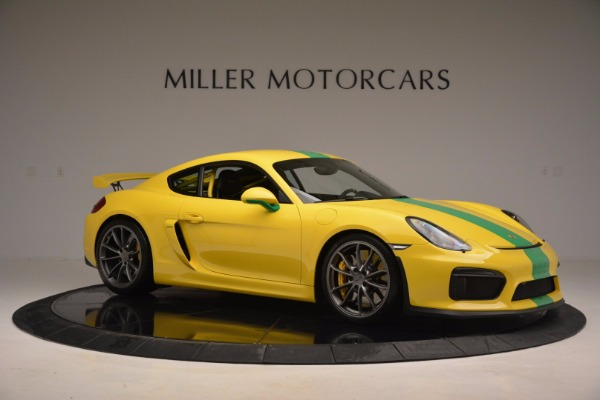 Used 2016 Porsche Cayman GT4 for sale Sold at Aston Martin of Greenwich in Greenwich CT 06830 10