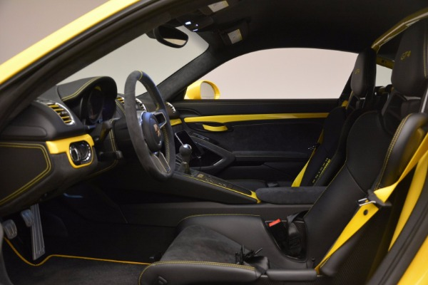 Used 2016 Porsche Cayman GT4 for sale Sold at Aston Martin of Greenwich in Greenwich CT 06830 14