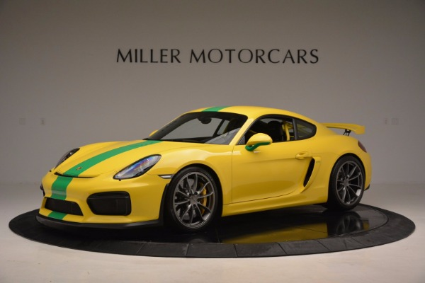 Used 2016 Porsche Cayman GT4 for sale Sold at Aston Martin of Greenwich in Greenwich CT 06830 2