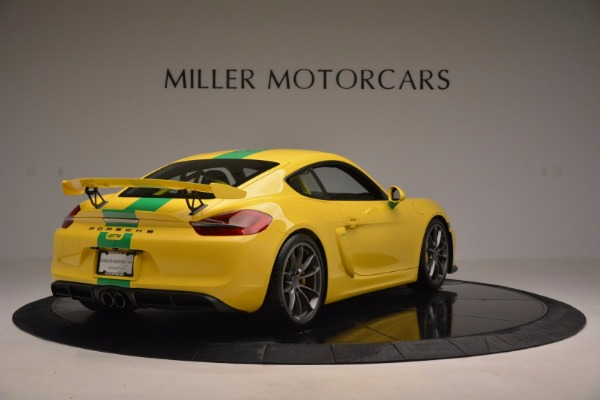 Used 2016 Porsche Cayman GT4 for sale Sold at Aston Martin of Greenwich in Greenwich CT 06830 7
