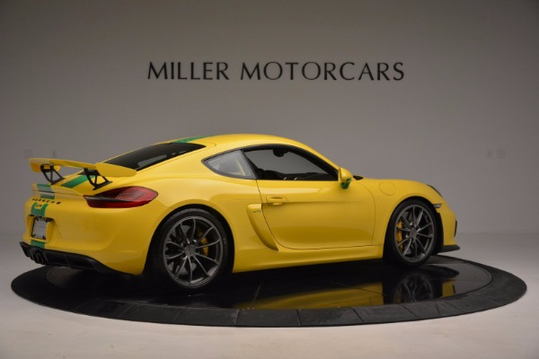 Used 2016 Porsche Cayman GT4 for sale Sold at Aston Martin of Greenwich in Greenwich CT 06830 8