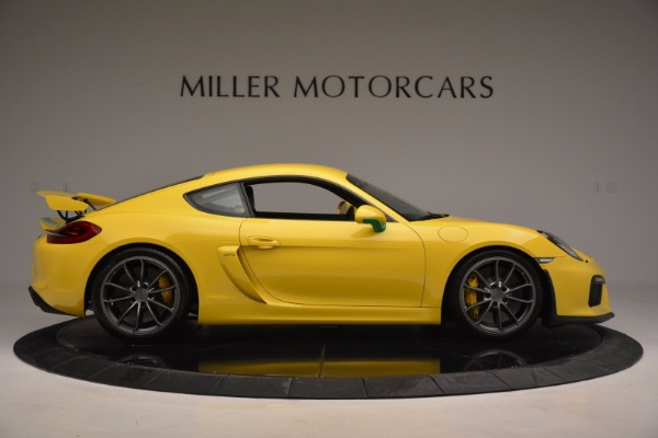 Used 2016 Porsche Cayman GT4 for sale Sold at Aston Martin of Greenwich in Greenwich CT 06830 9