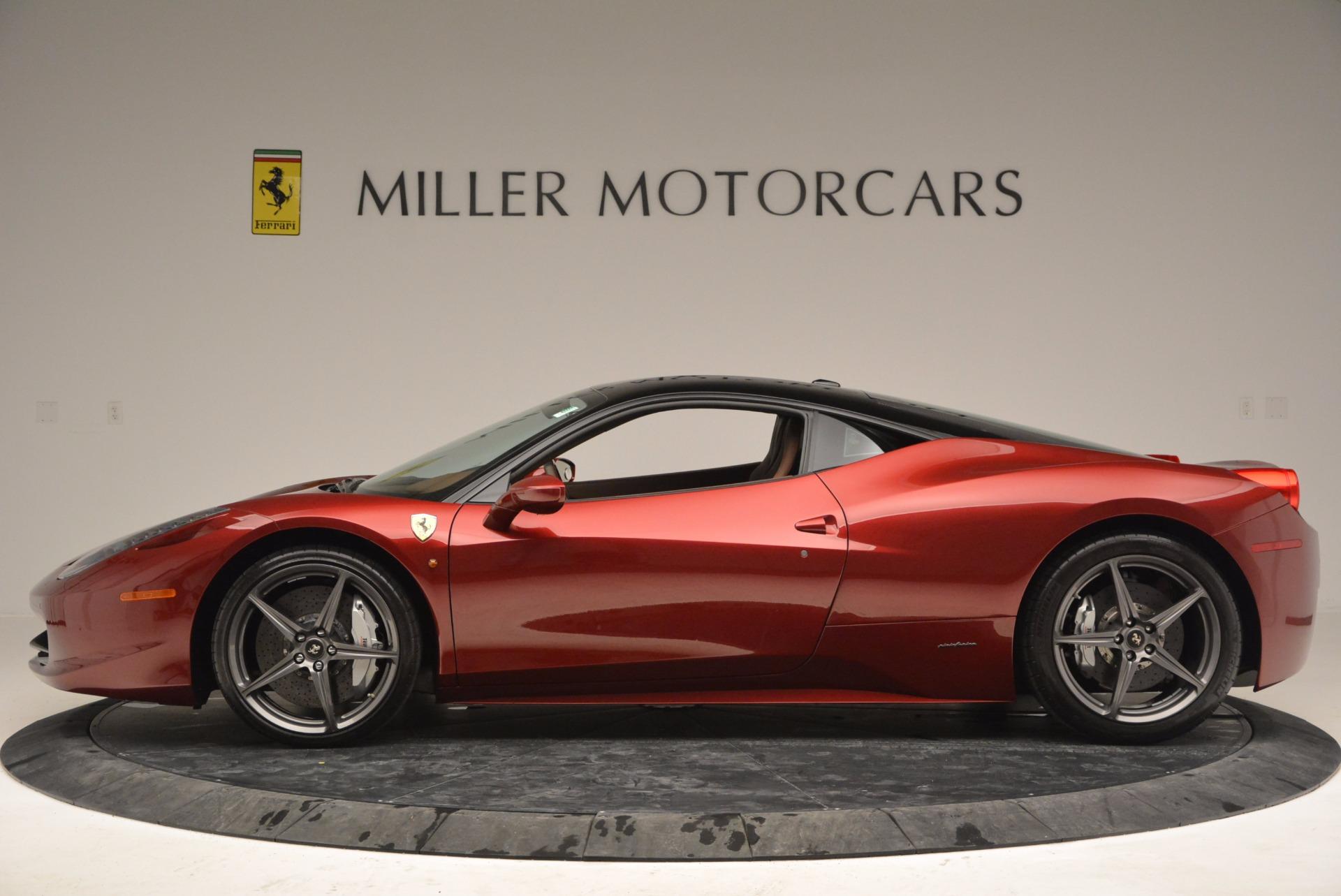 Pre Owned 2011 Ferrari 458 Italia For Sale Special Pricing Aston Martin Of Greenwich Stock 4374