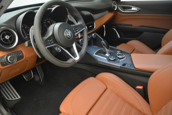 New 2018 Alfa Romeo Giulia Ti Sport Q4 for sale Sold at Aston Martin of Greenwich in Greenwich CT 06830 13