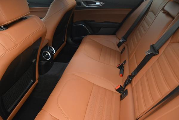 New 2018 Alfa Romeo Giulia Ti Sport Q4 for sale Sold at Aston Martin of Greenwich in Greenwich CT 06830 17