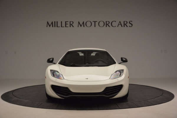 Used 2014 McLaren MP4-12C Spider for sale Sold at Aston Martin of Greenwich in Greenwich CT 06830 13