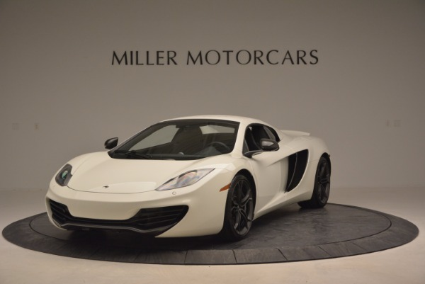 Used 2014 McLaren MP4-12C Spider for sale Sold at Aston Martin of Greenwich in Greenwich CT 06830 14